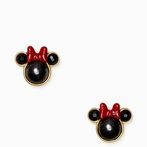 NEW Kate Spade Minnie Mouse Stud Earrings
